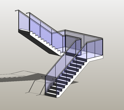 First of all we need to remove the balusters and posts we are going to keep the top hand rail though. Select the railings and edit the type properties\u003e ... & Glazed Balustrade Made Easy - Infinite BIM